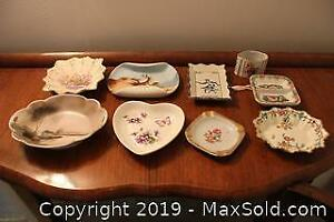Small Decorative Dishes, Noritake, Royal Albert, Aynsley and More B
