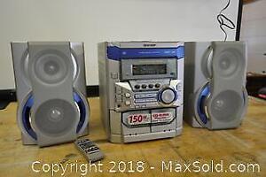 Sharp Mini Stereo System-B