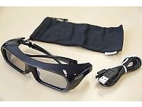 Sony 3D Glasses TDG-BR250 * 2 Pairs