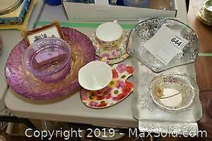 Cup and Saucers. A