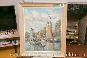 Vintage Oil Painting - A