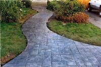 CONCRETE DRIVEWAYS, PATIOS AND WALKWAYS