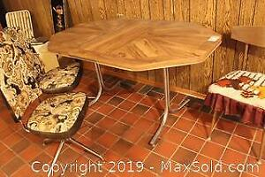 Table And Chairs. C