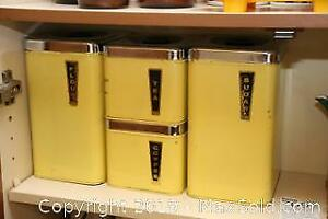 Vintage Metal Containers and More A