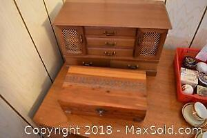 Jewellery Boxes. A