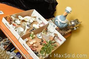 Figurines, Vases, Miniatures and Ducks. A