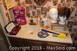 Personal Products, Step Stool And Storage Bin A