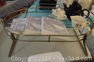 Vintage Bed Tray And Tea. A