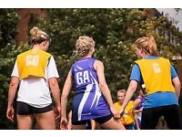 Netball Players Needed For Ladies Teams