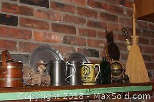 Beer Stines, Trays, Mini Globe And More A