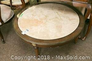 Round Coffee Table- A