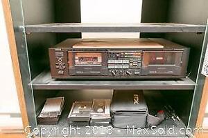 Yamaha Double Cassette Deck A