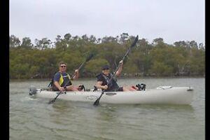 Hobie Oasis mirage drive tandem kayak Salamander Bay Port Stephens Area Preview