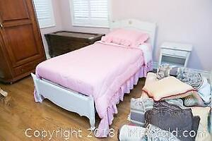 Single Bed And Bedding C