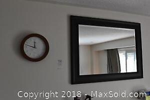 Mirror And Clock. A