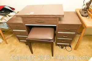 Singer Sewing Machine Table and Bench C