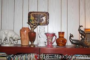 Vases And Figures. A