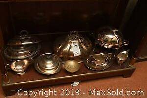 Silver Plate Collection B