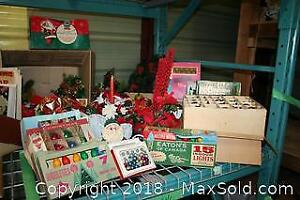 Vintage Christmas Lights And Decorations