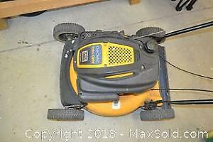 Lawn Mower and Chainsaw.-C
