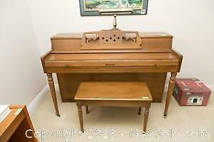 Piano And Bench- C