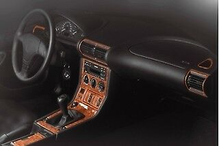 Bmw 3 Series Dash - BMW Z3 Series Interior Dash Trim Kit 3M 3D 20-Parts Burl Wood 1996-1999