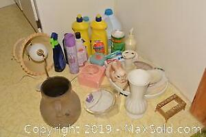 Cleaning and Bathroom Supplies. A