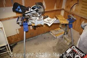 Delta Miter Saw and Stand B