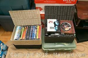 DVDs And Video Game A
