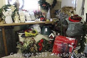 Christmas Decorations. B