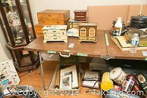 Jewelry Boxes and Framed Prints A