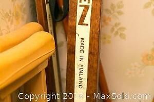 X Country Skis With Boots- B