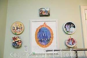 Disney Print And Plaques B