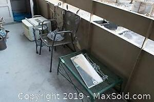 Patio Chair And Coffee Table B