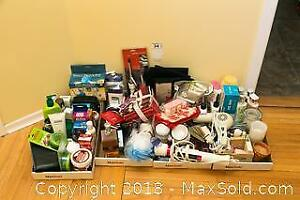 Assortment of Bathroom Items A
