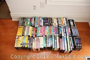 VHS Movies- A