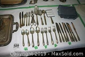 Rogers Silver Plate and More A
