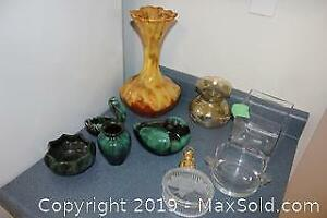 Assorted Pottery And Decorative Dishes