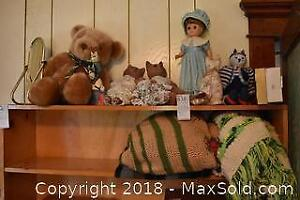 Blankets And Dolls. A