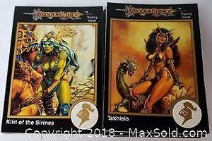 Dungeons And Dragons Card Lot Of 40
