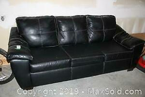 Bonded Leather Couch C