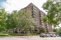 Large two bedroom apartment for rent in excellent Burlington loc