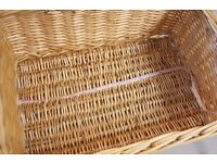 Big Laundry Wicker basket in very good condition only £8