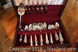 Flatware And Canteen. A
