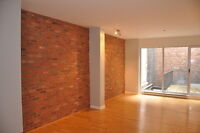 Old Montreal Condo loft one bedroom with private terrace