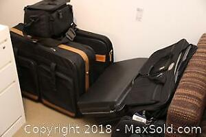 Suit Case Gym Bag And Brief Cases-B
