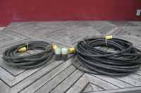For sale: 2 HEAVY DUTY EXTENTION CABLES