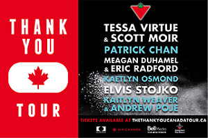 $100 for 2 tix -  THANK YOU CANADA TOUR - Red Deer - October 18