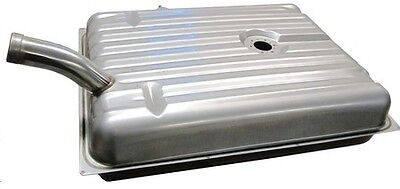 TANKS INC TF31C-SS 1955 FORD PASSENGER STAINLESS STEEL FUEL GAS TANK HOT ROD