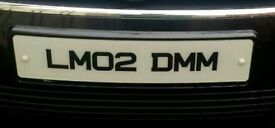 Personalised Registration LM02 DMM